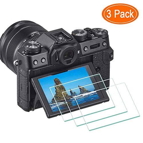 X-T30 - Protector de Pantalla para cámara Digital Fujifilm X-T30 X-T20 X-T10 X-E3 XF10 X-T100 X-A1 X-A2,ULBTER 0,3 mm dureza 9H Vidrio Templado antiarañazos antihuellas antiburbujas, 3 Unidades