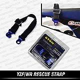 Kungfu Graphics Rear Adjustable Tugger Strap for Dirt Bike Motocross Enduro Supercross YZF250 YZ250F YZF 250 YZF450 YZ450F YZF 450 WR250 WR 250 WR450 WR 450, Blue