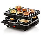Best Raclette Grills - Domo DO9147G Raclette Grill, 600 W, Black Review