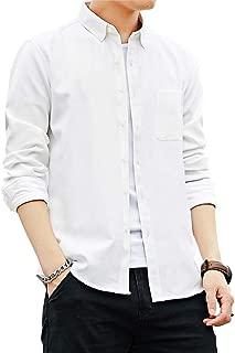 Avangly シャツ メンズ 長袖 オックスフォードシャツ ボタンダウンシャツ