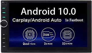 $183 » Sponsored Ad - Car Radio Touchscreen Double Din Carplay Android Auto Car Stereo Android 10 Bluetooth GPS Head Unit 2 Din 7...