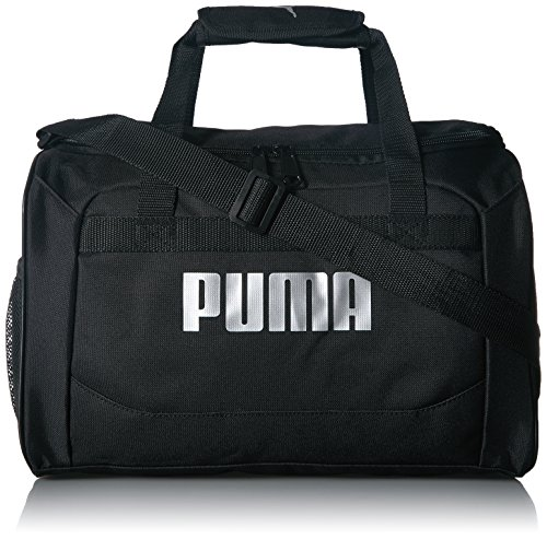 PUMA Boys' Big Evercat Transformation JR Duffel, black/silver, OS