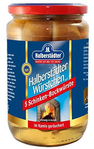 Halberstädter Schinken-Bockwürste, 1er Pack (1 x 350 g)