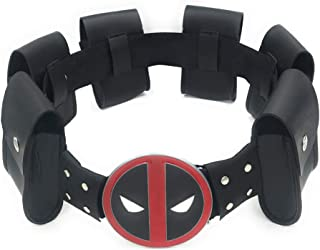Deadpool Rulercosplay Game Cosplay Mask, Belts and Sword Belt
