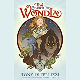 The Search for WondLa audiobook cover art