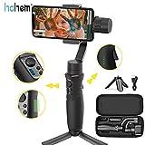 Hohem iSteady Mobile Plus Handheld Smartphone Gimbal Estabilizador de mano de 3 ejes para iPhone X XR XS, Modo de inicio deportivo Visual Auto Tracking 280g Payload para vlog youtube travelling