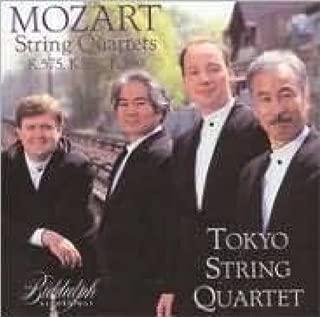 mozart string quartet k 575