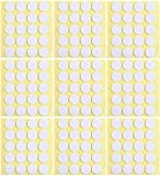 PinCute 200 Pieces Candle Wick Stickers, Adhere Steady in Hot Wax Wick Stickers for Candle Making (200)