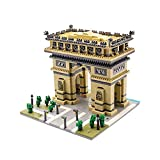 dOvOb Micro Mini Blocks Arc De Triomphe Building Model Set (2020 Pieces) Famous Architecture Toys Gifts for Kid and Adult