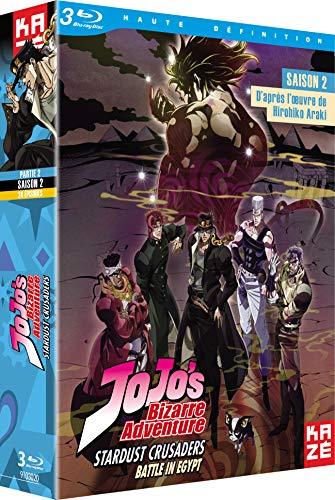 ジョジョの奇妙な冒険 2nd Season スターダストクルセイダース Blu-ray BOX 2/2 (第25-48話 エジプト編)[Blu-ray Region B](海外Import版)