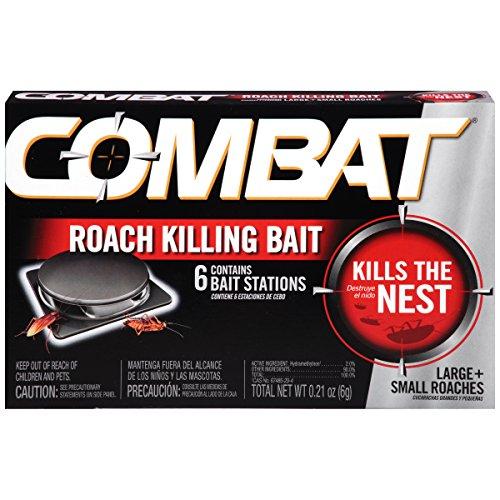 Combat Source Kill 5 Small & Large Roach Bait Stations.21 oz, 6