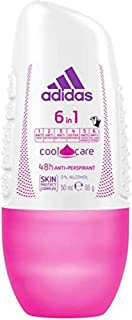 Adidas 6 In 1 Anti-Perspirant Roll-On For Her 50 ml
