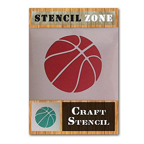 NBA Deporte Basket Mylar aerógrafo Pintura Crafts arte de la pared de la plantilla (A5 Tamaño de la plantilla - XSmall)