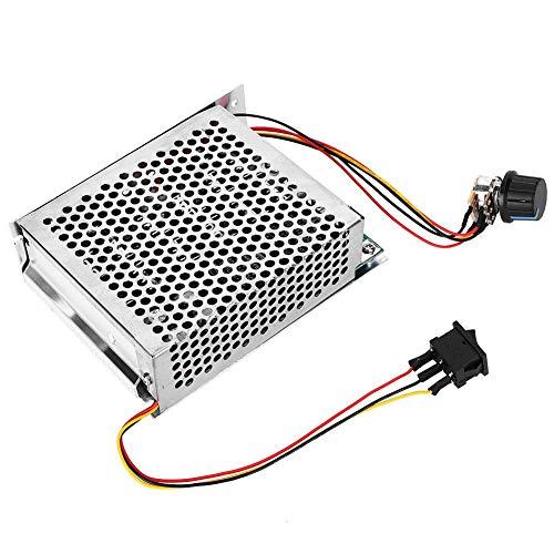 Controlador de velocidad del motor, regulador de velocidad del motor DC de alto par, 12V 24V 36V 48V DC Regulador del control de velocidad del motor con pantalla digital, 60A