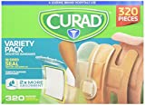 CURAD Assorted Bandages Variety Pack - 320 Pieces by Curad