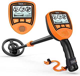 TACKLIFE Metal Detector Mainly for Kids with Large Back-lit LCD Display, Easy to Operate for Kids, Lightweight & Waterproof Coil for Treasure Hunting, Gift for Junior MMD03