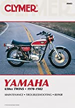 Clymer Yamaha 650cc Twins 1970-1982: Maintenance, Troubleshooting, Repair