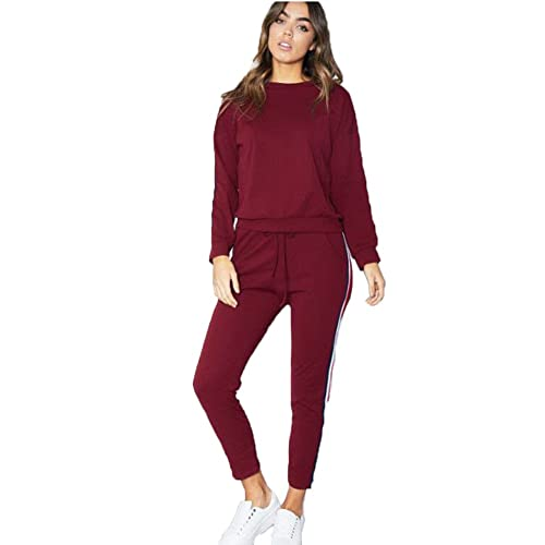 Girls Ladies Ruffle Frill Tracksuit Kids 2 Piece Coord Loungewear Jogger Set