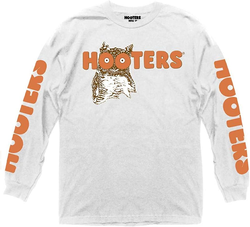 Ripple Junction Hooters Adult Ranking TOP20 Unisex Logo Sleeve Throwback with Popular product