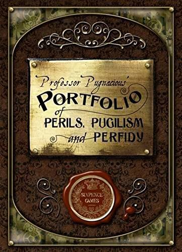 Sixpence Games Professor Pugnacious Portfolio of Perils, Pugilism and Perfidy by Sixpence Games