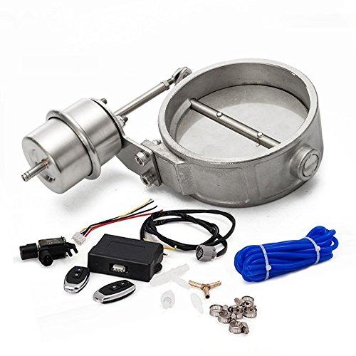 epman tk-cut102-cl-dz Escape Control Válvula de cierre tubo de vacío actuador de 102mm Con Estilo W/mando a distancia inalámbrico