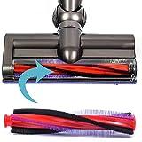 CABINA HOME - Cepillo de rodillo para motor de repuesto de 18,5 cm, 22,5 cm, accesorio para Dy-son V6 DC58 DC59 SV03 DC62 (18,5 cm)