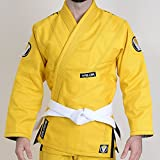 Valor Prime 2.0 Premium Lightweight BJJ GI - Yellow (A4)