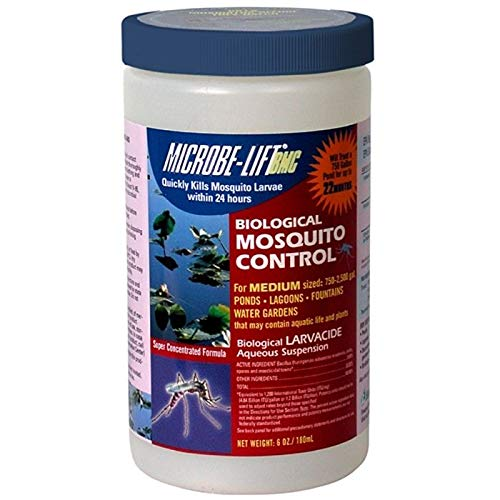 MICROBE-LIFT BMC Liquid Mosquito Control 6 oz. for use for Medium Ponds up to 5000 gallons [N.A. RI, Canada]