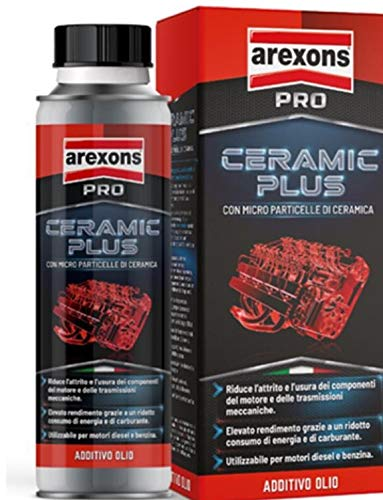ADDITIVO OLIO CERAMIC PLUS 300ML CON MICRO PARTICELLE DI CERAMICA
