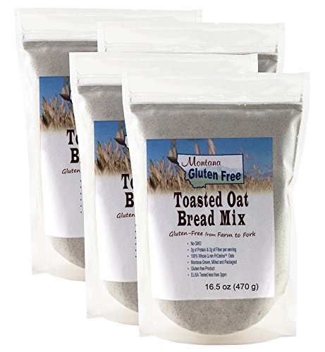 Gluten Free Toasted Oat Bread Mix - 4 Pack