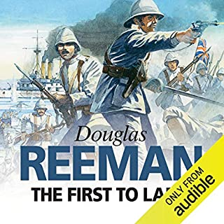 The First to Land                   By:                                                                                                                                 Douglas Reeman                               Narrated by:                                                                                                                                 David Rintoul                      Length: 8 hrs and 25 mins     28 ratings     Overall 4.5