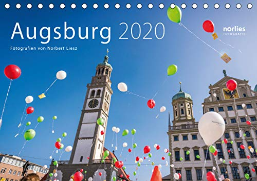 Augsburg 2020 (Tischkalender 2020 DIN A5 quer): Augsburg Fotos (Tischkalender, 14 Seiten ) (CALVENDO Orte)