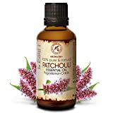 Patchouli Olio Essenziale 50ml - Pogostemon Cablin - Indonesia - 100% Puro & Naturale Patchouli - Bellezza - Aromaterapia - Spa - Diffusore Aromi - Lampada Aroma