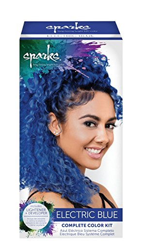 Sparks Complete Color Kit, Electric Blue