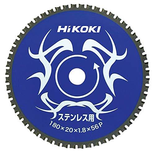 日立工機 ハイコーキ チップソー ステンレス用 180mm×20 56枚刃 00326351 直送品