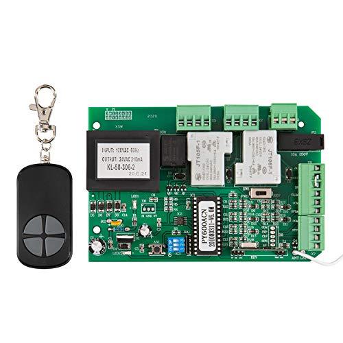 CO-Z Universal Logic Board für Schiebetorantrieb Zentralkarte für Automatisches Schiebe- oder Schwingtor Steuermodul Steuerplatine Ersatzplatine Zentralplatine für Toröffner mit Fernbedienung