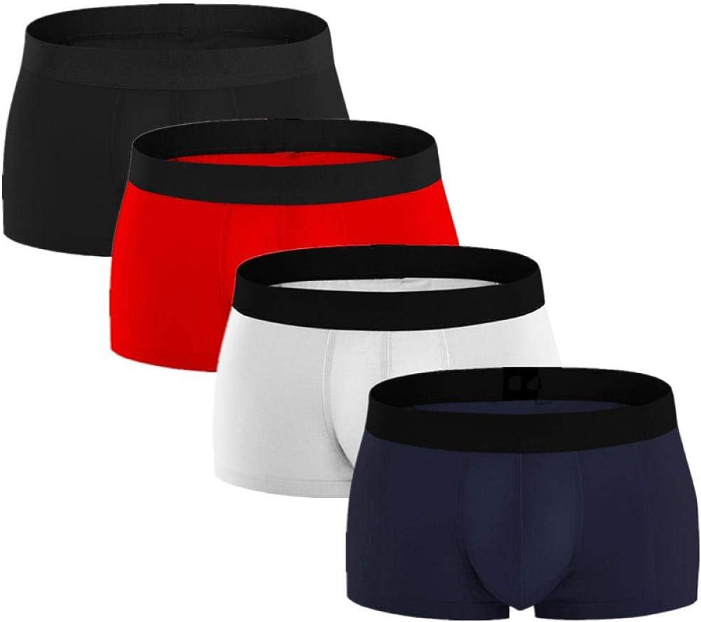 Boxer Shorts 4Pcs Panties Men Boxers Underwear Cotton Man Shorts Boxer Breathable Shorts Mens Boxers Underpants