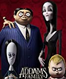 Zole Xap The Addams Family | 14inch x 17inch | Silk