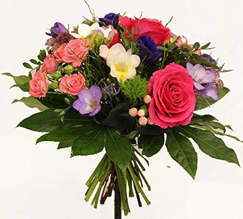 Blumenstrauß mit FRISCHEN BLUMEN | PERFEKT als GESCHENK | MEISTERBETRIEB |'Farbpalette' Größe 30...
