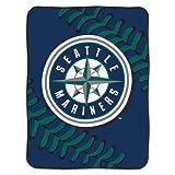 MLB Seattle Mariners Plush Raschel 60x80 Throw