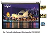 Inlight Wall Autolock/Instalock Projector Screen, Size: - 6 Ft. - Width x 4