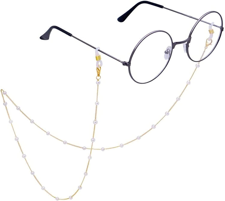 Pretty Glasses Chain Eyeglass Chain Womens Eye Glasses Chain, Sunglasses Lanyard Strap Cord String Holder Around Neck ASDDD