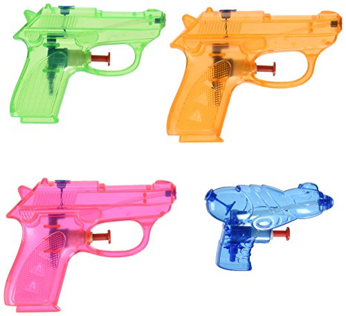 25 assorted Water squirt guns - party pack