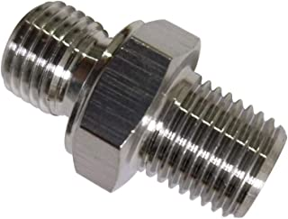 Metalwork 304 Stainless Steel Pipe Fitting,Hex Nipple, Connect G 1/4