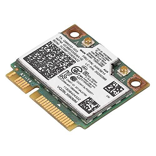Yuyanshop Tarjeta de red compatible con Intel 7260HWM 867M tarjeta de red de doble banda y Bluetooth4.0 compatible con Lenovo/IBM/ThinkPad 04W3814
