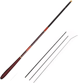 Cañas De Pescar BLTLYX Fibras Telescópicas De Carbonos Mano Pole Carpa De Pesca Alimentador Rod Hard