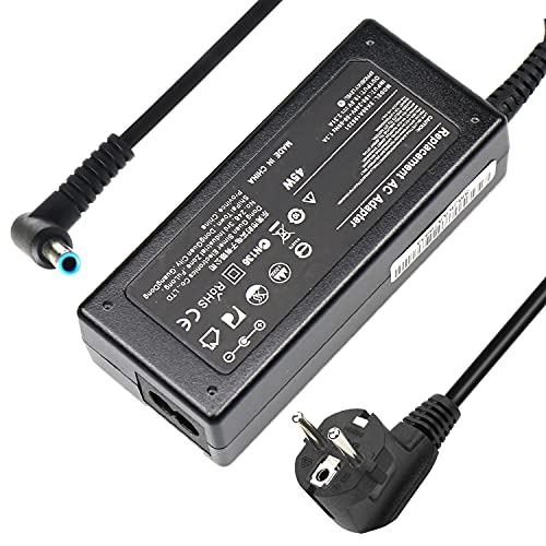 VUOHOEG 19,5V 2,31A 45W Adaptador de Cargador para Portátil HP Stream 11 13 14; HP Pavilion 11 13 15; 741727-001 719309-001 719309-003 721092-001 740015-001 HSTNN-CA40 Punta Azul de 4,5 x 3,0 mm