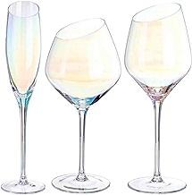 FZBK Ovid Weißweingläser , Kristall 4-teiliges sessile Gin Copa Partyglas, Kristallweinglas, Kristallglas, Klarglas, 160ml   4St