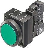 Siemens - Lámpara señalización amarillo portatil ba9s 24v diámetro 22