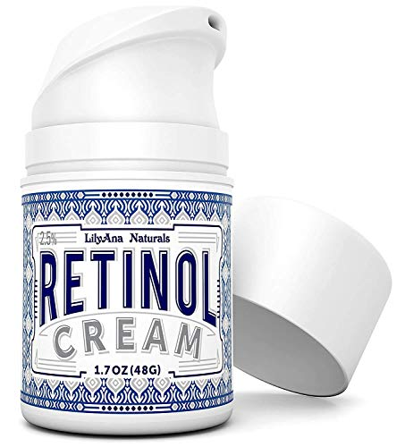 LilyAna Naturals Retinol Cream for Face - Retinol Cream, Anti Aging Cream, Retinol Moisturizer for...